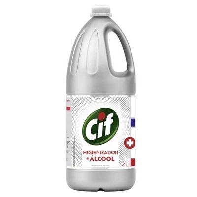 Higienizador + Álcool 2L 1 UN Cif