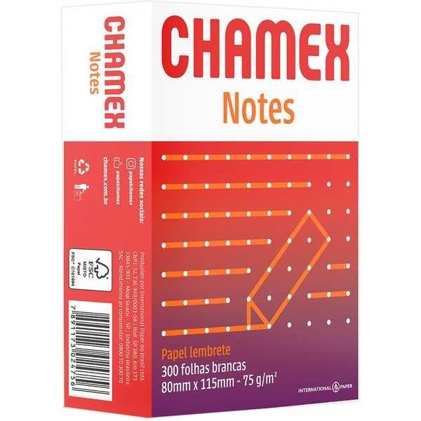 Bloco de Anotações 80x115mm PT 300 FL Chamex