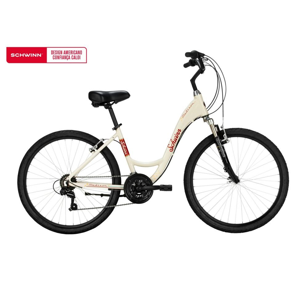 Bicicleta Madison Aro 26 Branco 1 UN Schwinn