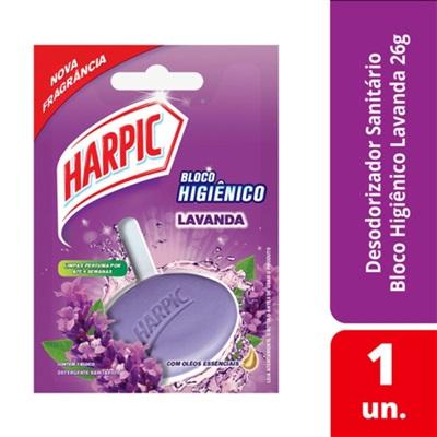 Bloco Sanitário 26g Lavanda 1UN Harpic