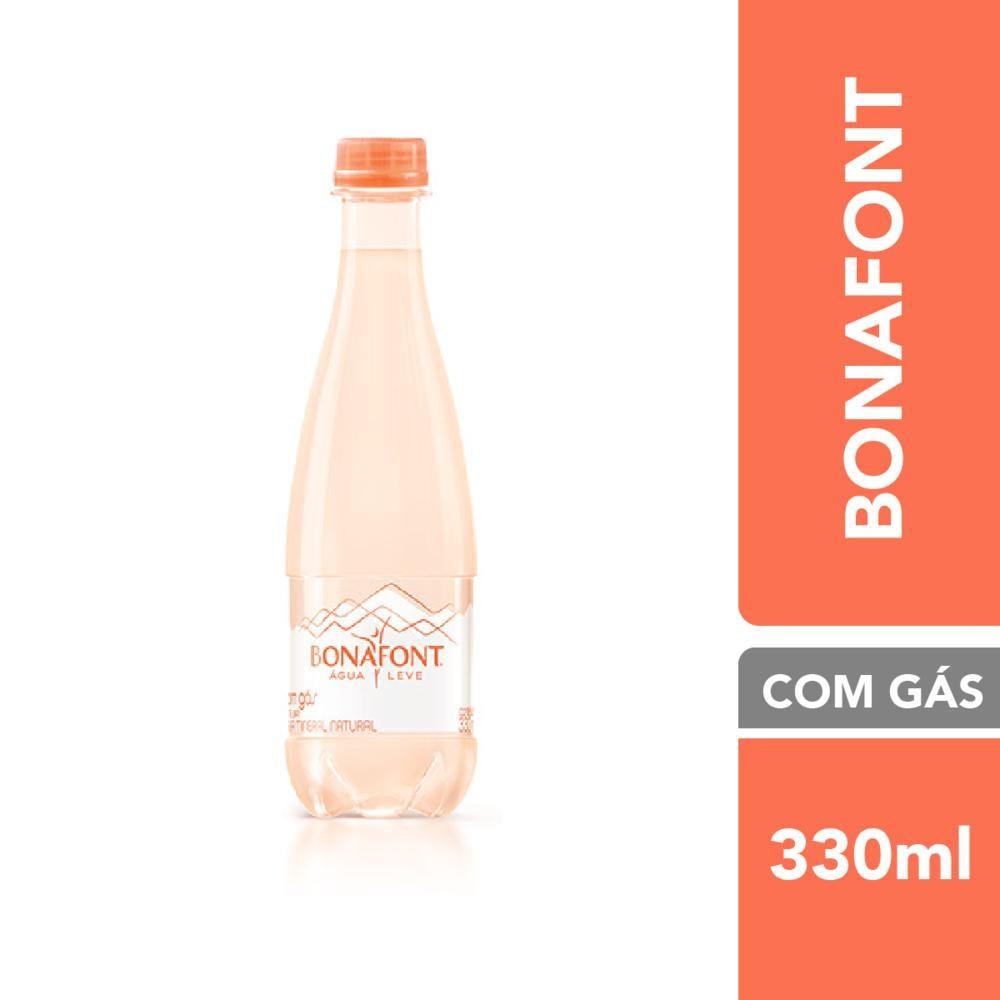 Água Mineral com Gás 330ml 1 UN Bonafont