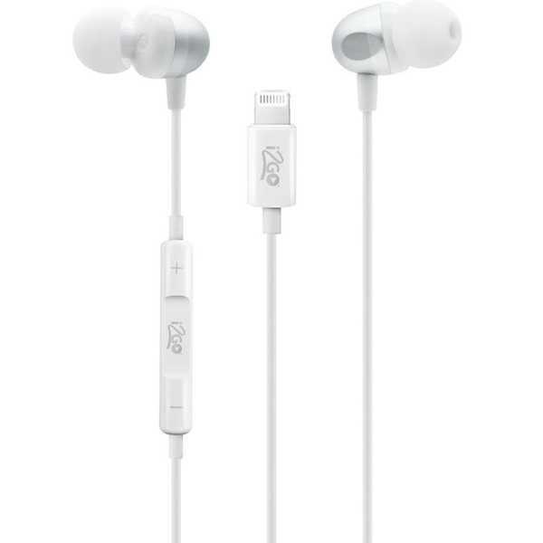 Fone de Ouvido com Conect Lightining Branco 1 UN I2GO