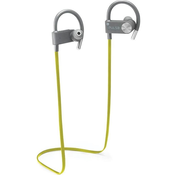 Fone de Ouvido Earhook Bluetooth Amarelo PH254 1 UN Pulse
