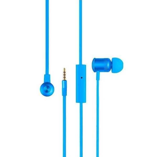 Fone de Ouvido Earphone Hands Free Wired Azul PH187 1 UN Pulse