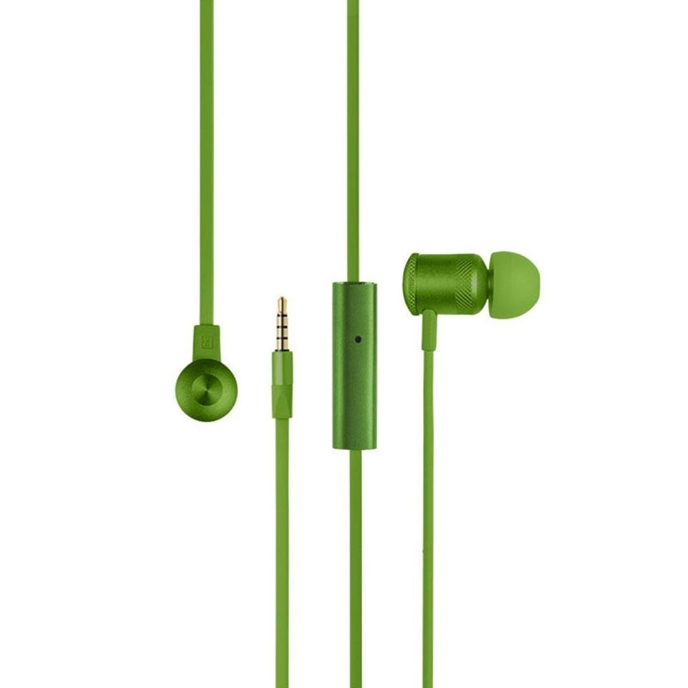 Fone de Ouvido Earphone Hands Free Wired Verde PH189 1 UN Pulse