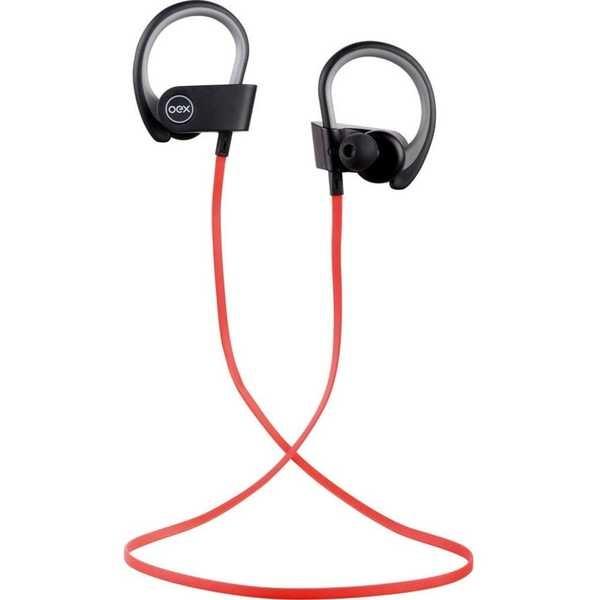 Fone de Ouvido Sport Move com Microfone Bluetooth Preto e Vermelho HS303 1 UN OEX