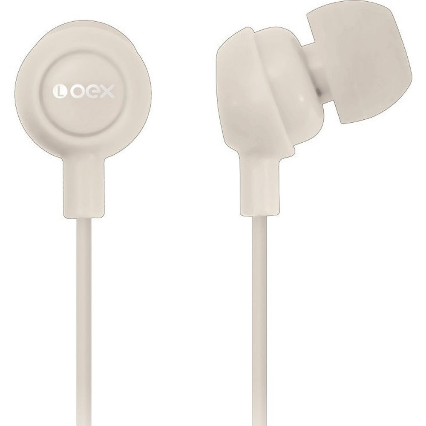 Fone de Ouvido Branco FN100 1 UN OEX