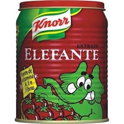 Extrato de Tomate Lata 340g 1 UN Elefante