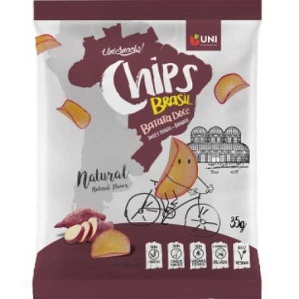 Chips de Batata Doce 35g Uni Alimentos