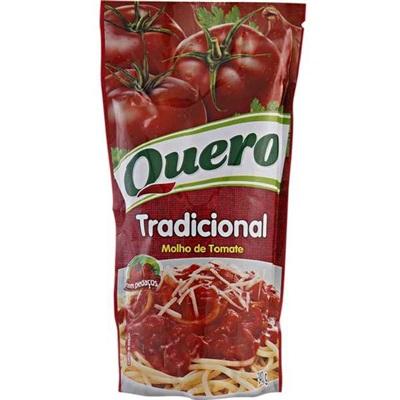 Molho de Tomate Tradicional Sachê 340g 1 UN Quero