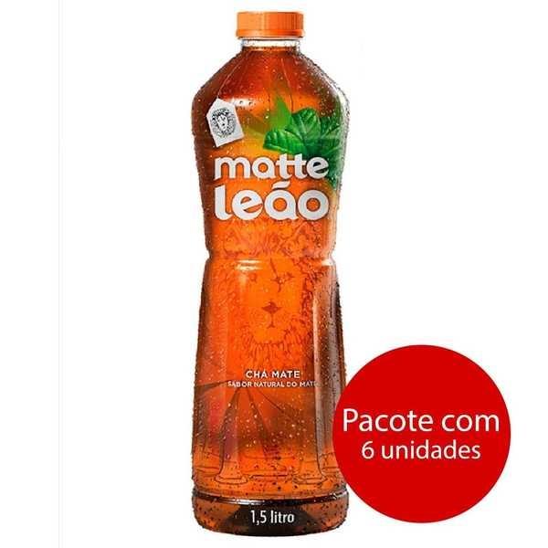 Chá Matte Natural 1,5L 6 UN Leão