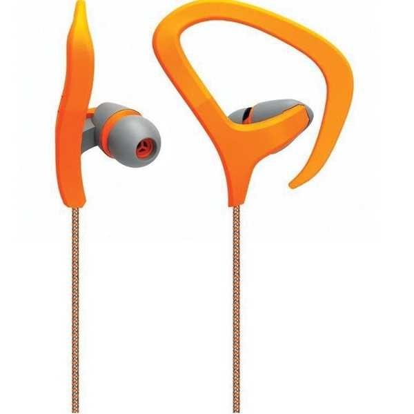 Fone de Ouvido Auricular Fitness Laranja PH167 1 UN Multilaser