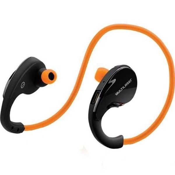Fone de Ouvido Arco Sport Bluetooth Laranja PH185 1 UN Multilaser