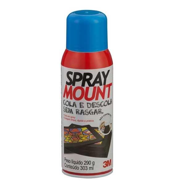 Cola Spray Adesivo Mount Scotch 290g 1 UN 3M