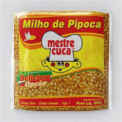 Milho para Pipoca 500g Mestre Cuca