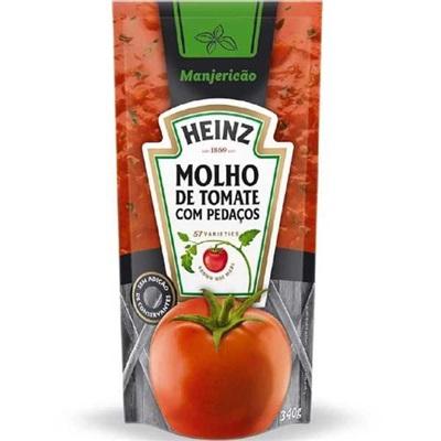 Molho de Tomate Manjericão Sachê 340g 1 UN Heinz