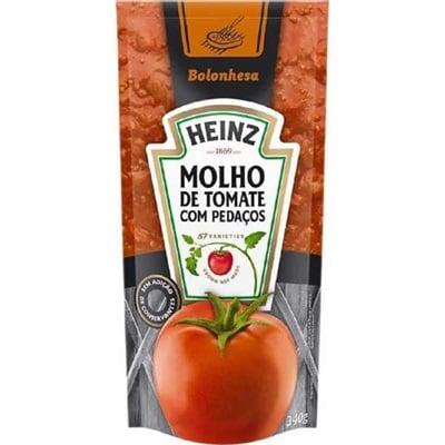 Molho de Tomate Bolonhesa Sachê 340g 1 UN Heinz