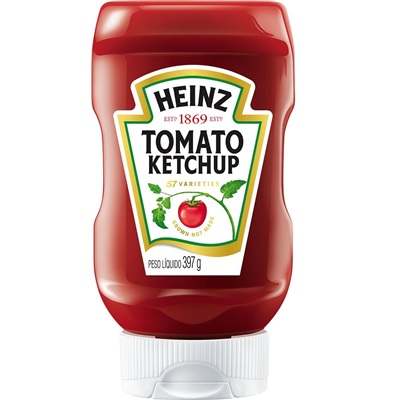 Ketchup Tradicional 397g 1 UN Heinz