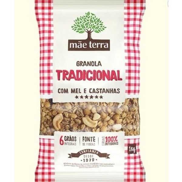 Granola Tradicional 1kg 1 UN Mãe Terra