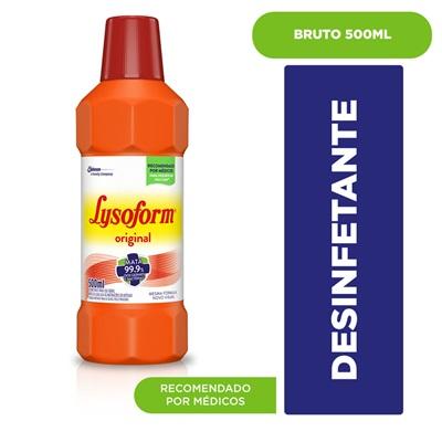 Desinfetante 500ml Bruto Lysoform