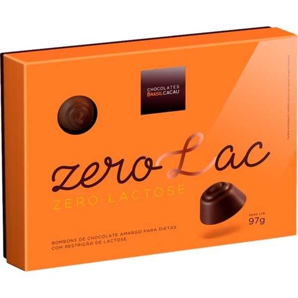 Bombons Zero Lactose 97g Chocolates Brasil Cacau
