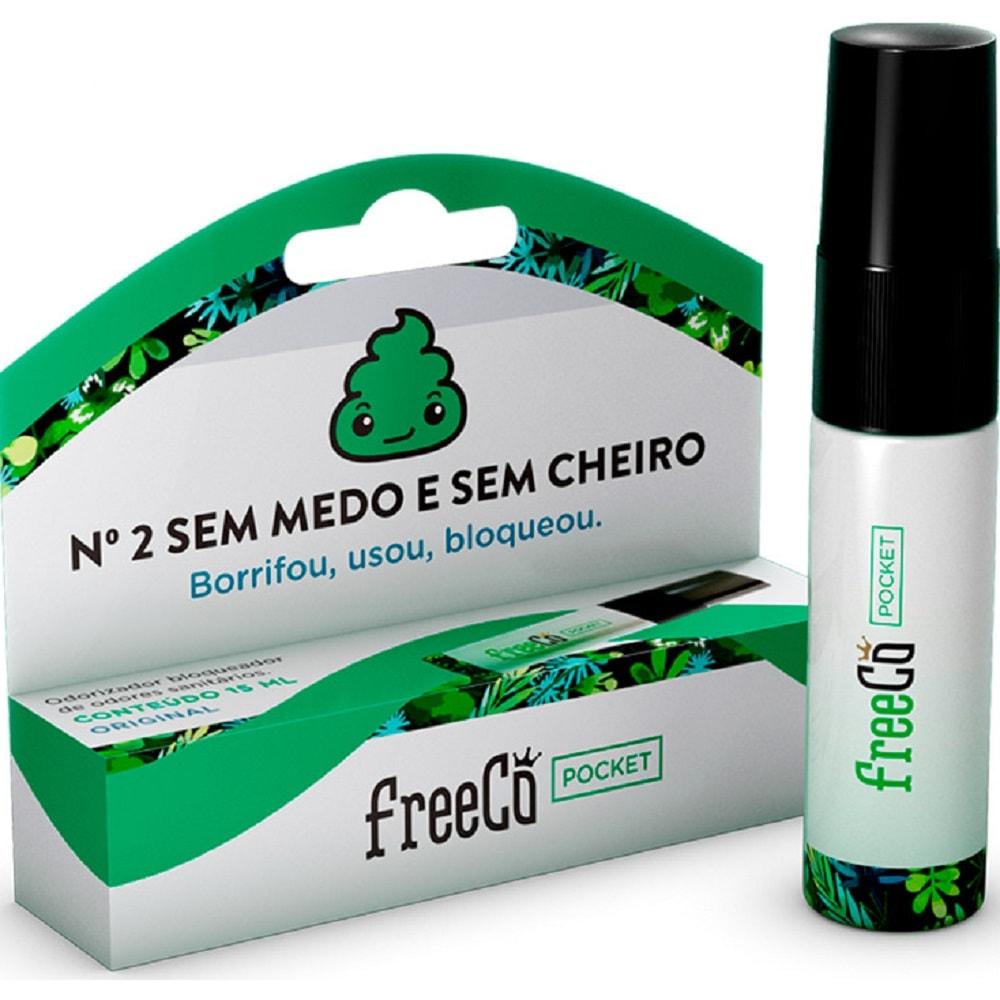 Bloqueador de Odores Sanitários 15ml FreeCô Pocket