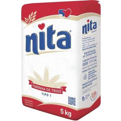 Farinha de Trigo 5kg 1 Pacote Nita