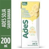 Bebida à Base de Soja Sabor Vitamina de Banana 200ml Ades