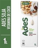 Bebida à Base de Soja Sabor Vitamina de Coco 1L Ades