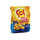 Biscoito Hits Sabor Original 80g 1 Pacote Sol