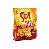 Biscoito Hits Sabor Queijo 80g 1 Pacote Sol