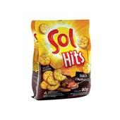 Biscoito Hits Churrasco 80g 1 Pacote Sol