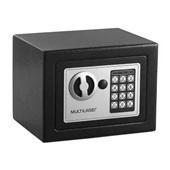 Cofre Eletrônico 17x23x17cm Preto OF007 1 UN Multilaser