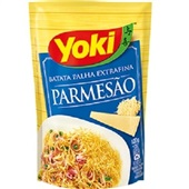 Batata Palha Parmesão Extra Fina 120g Yoki