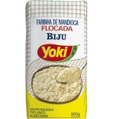 Farinha de Mandioca Flocada Biju 500g Yoki