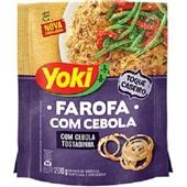 Farofa com Cebola 200g Yoki