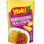 Mandioquinha Palha Extra Fina 100g Yoki