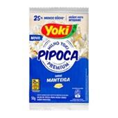 Pipoca para Microondas Manteiga 50g Yoki