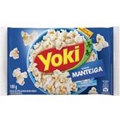Pipoca para Microondas Manteiga 100g Yoki