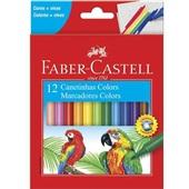 Caneta Hidrográfica Colorir 12 Cores Faber Castell