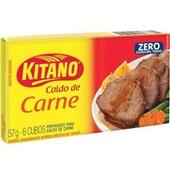 Caldo de Carne 57g 6 Cubos 1 UN Kitano