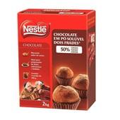 Chocolate em pó 50% Cacau 2kg Nestlé