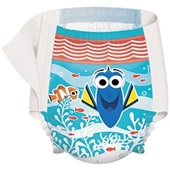 Fralda Little Swimmers P 1 UN Fralda Huggies