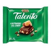 Chocolate Talento Castanha do Pará 90g Garoto
