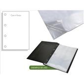 Envelope Plástico Ofício 240x325mm 4 Furos Espessura 0,06 ACP