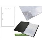 Envelope Plástico Ofício 240x325mm 2 Furos Espessura 0,15 ACP