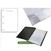 Envelope Plástico Ofício 240x325mm 4 Furos Espessura 0,20 ACP