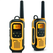 Rádio Comunicador RC 4102 Até 1 km Amarelo e Preto 2 UN Intelbras