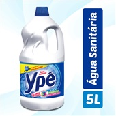 Água Sanitária Cloro Ativo 5L 1 UN Ypê