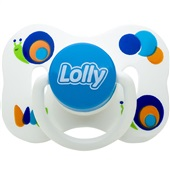 Chupeta Zoo Azul T2 1 UN Lolly